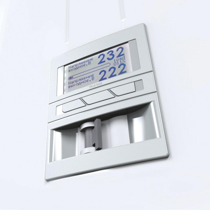 Стабилизатор напряжения Герц Э 36-1/100 V3.0, дисплей